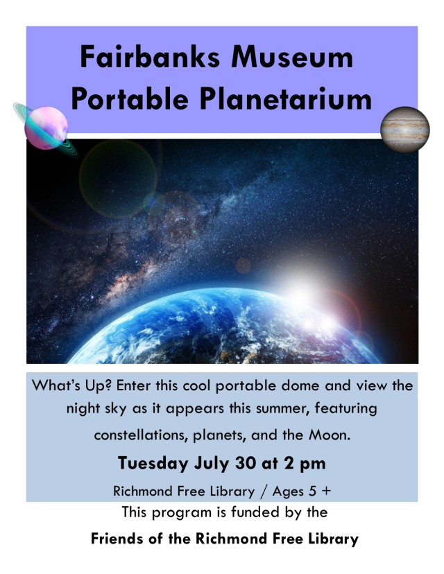 Planetarium Poster 2019