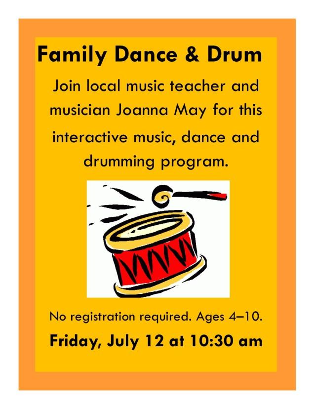 Poster Dance & Drum 2019